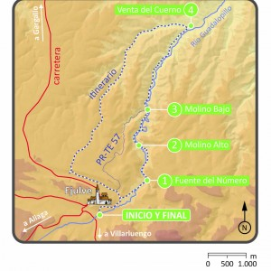 Mapa-de-la-ruta-Molinos-Guadalopillo