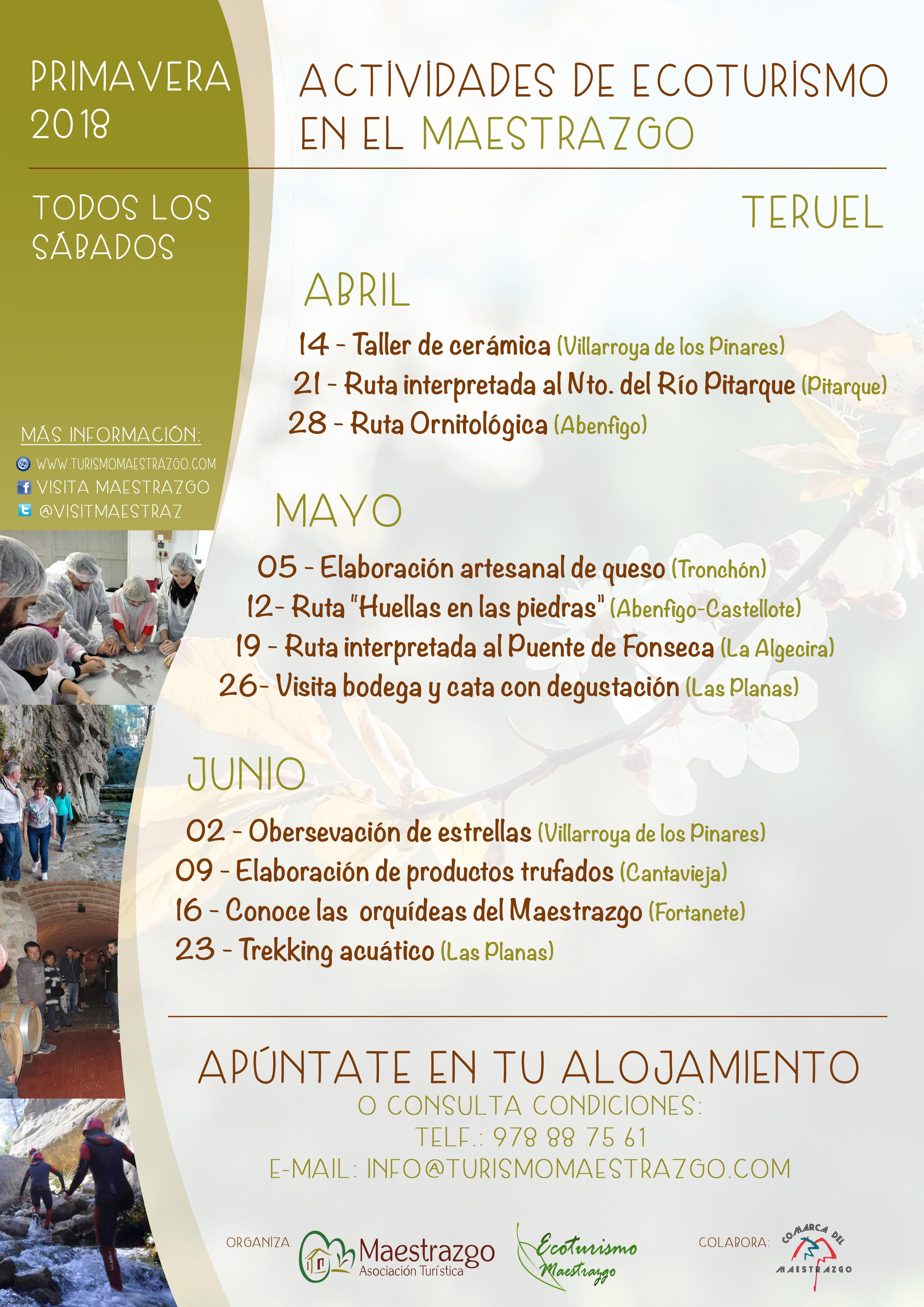 actividades eco primavera 2018